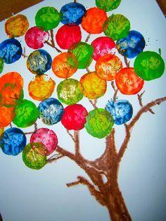 Zauberhafte Basteleien: Traumzauberbaum für Kleinkinder ab 1 Jahr Dreamtree magic DIY TUTORIAL