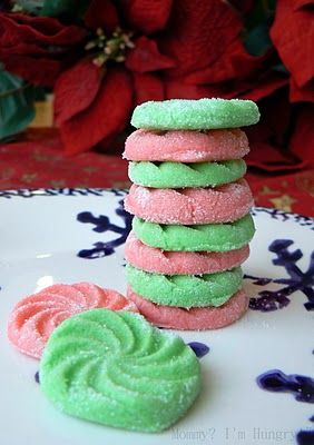 Cream Cheese Mints...perfect for parties and giving as gifts.