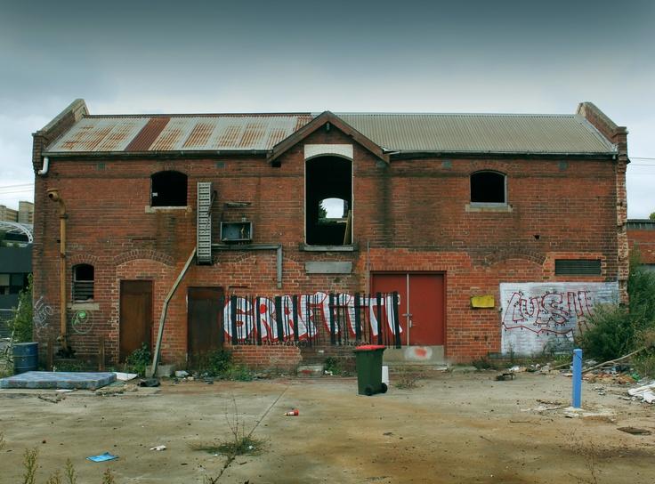 Abandoned.  North Melbourne, Australia