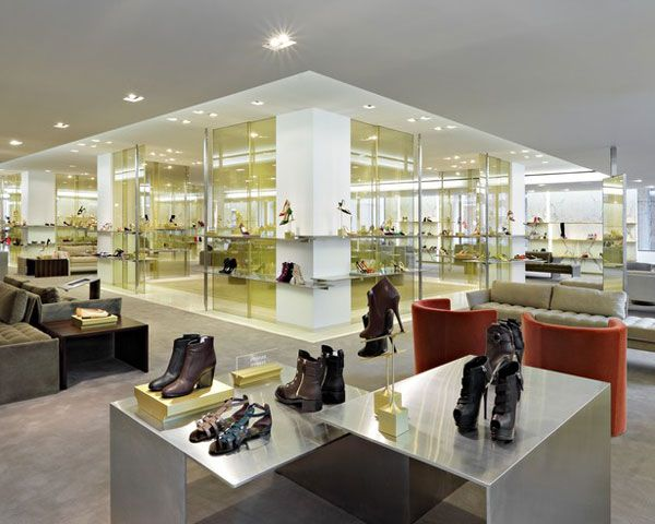 Barneys' Shoe Department Gets a Makeover