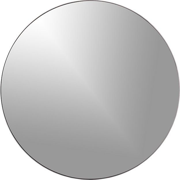 """infinity 36"""" round wall mirror"""