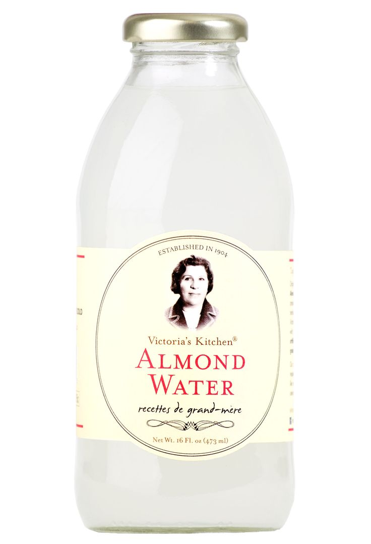 Victoria S Kitchen Almond Water
