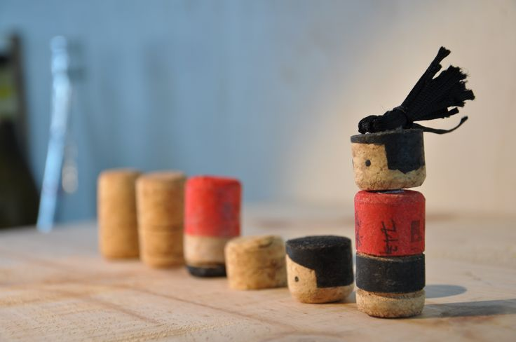 Sustainable Product Design Project. Foosball Material: wine cork http://www.pinterest.com/LisyStudio/
