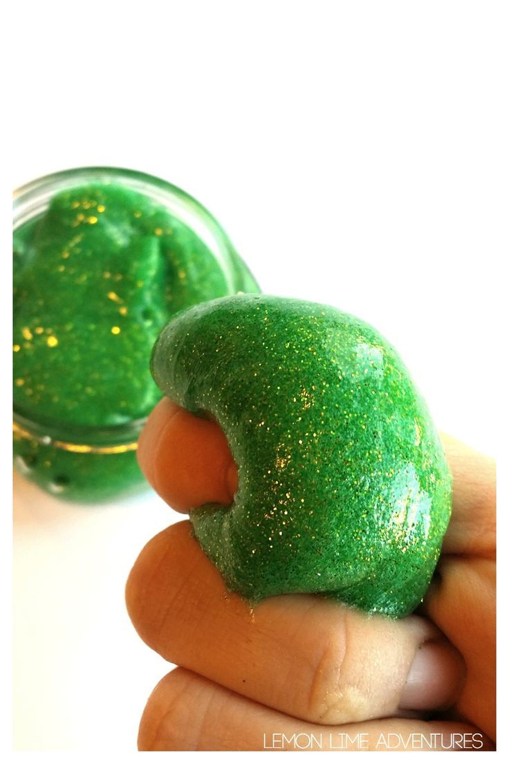 Calming Slime with Essential Oils
