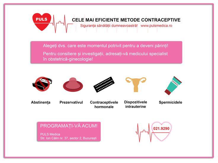 Cele mai eficiente metode #contraceptive