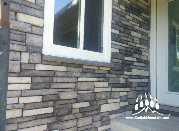Stacked Ledge Stone | Kodiak Mountain Stone