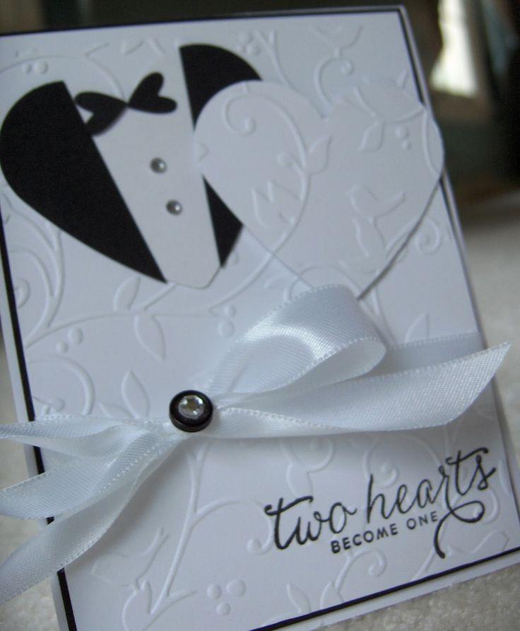 """Crafty """"Magra"""": Wedding card."""
