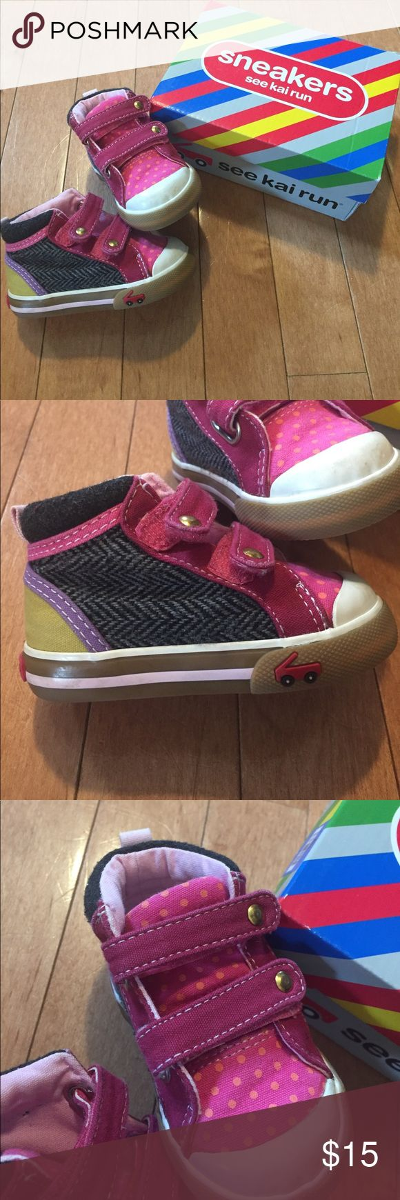 See Kai Run Size 3 Baby Girl Shoes Excellent Condition! Size 3 - See Kai Run - Baby Shoes See Kai Run Shoes Baby & Walker