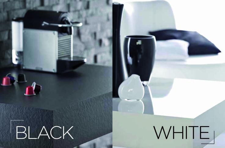 #monochrom white/black #polyrey
