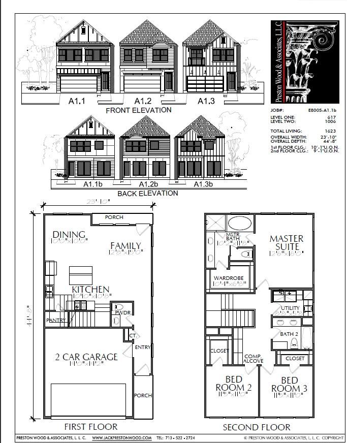 Two Story Home Plan E8005 A1 1 Shed Plans House Plans Diy Shed Plans