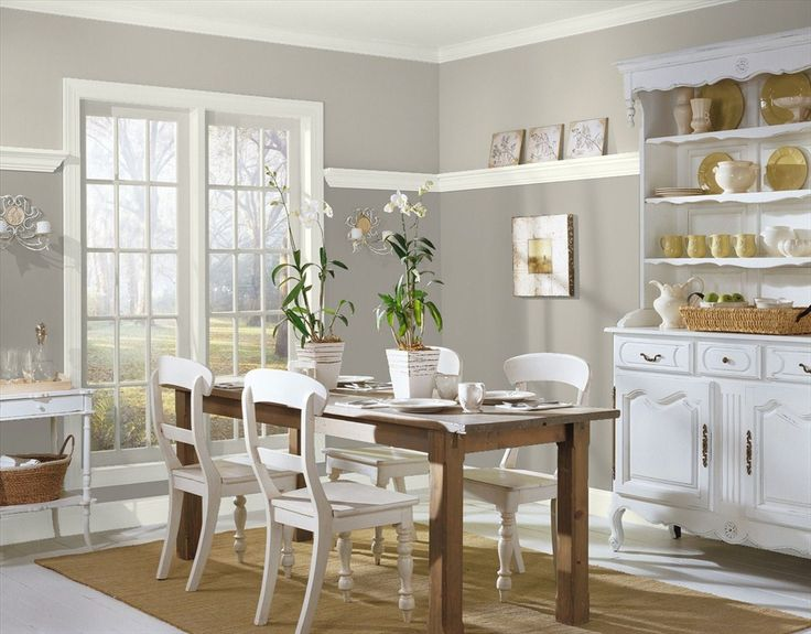 Nice Thunder By Benjamin Moore Looks Great In Any Room, Including Dining Rooms! Part 13