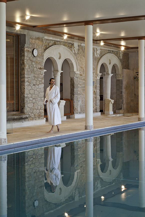 Local Beauty Secrets From Spas Around the World | One of the pools at The Hotel Royal-Thalasso Barriere, in La Baule, France | Organic Spa Magazine
