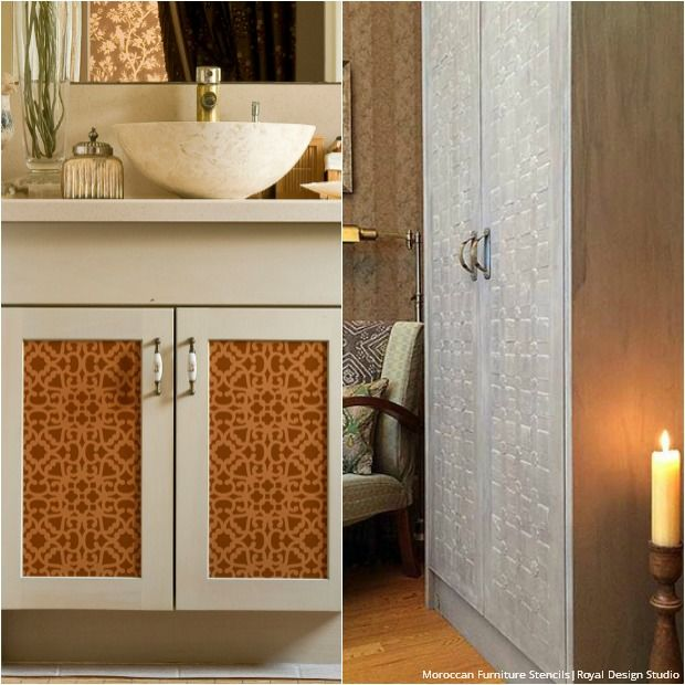 216 Best Images About Moroccan Wall Stencils Design On Pinterest Lace