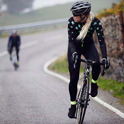Wiggle | dhb Women's Blok Superstar Long Sleeve Jersey | Long Sleeve Cycling Jerseys