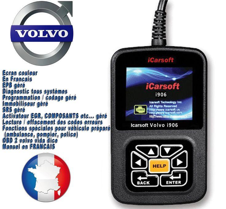Diagnostic Volvo iCarsoft ® i906 est un outil de diagnostic professionnel tous systèmes pour Porsche, couvre les véhicules Porsche de 1996 à 2014. Permet de diagnostiquer tous les systèmes et etiendre ou réinitialiser tous les voyant du tableau de bord.