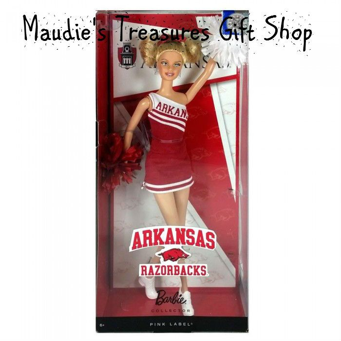 University of Arkansas Barbie #kids #toys $14.99 sale now use Fathersdaysale20 sale ends 6 - 19 - 2017