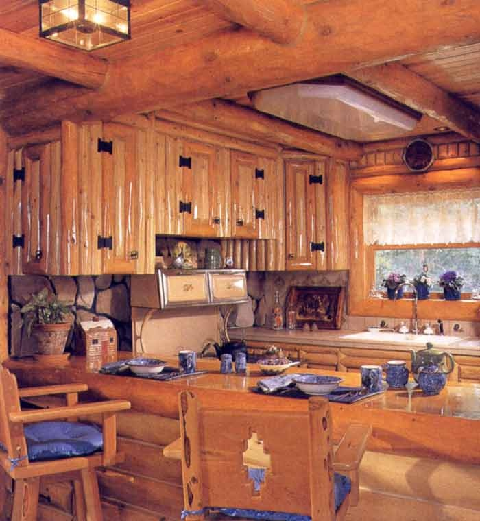 271 best kitchen ideas images on pinterest dream for Cabin kitchen cabinets