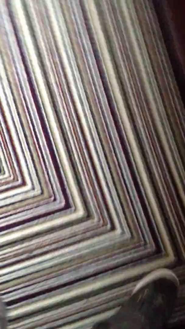 Affordable Flooring   Newly Laid Striped Stair Carpet In Edinburgh