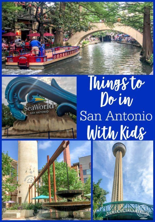 Things to do in San Antonio with kids, including the Alamo, the River Walk, and the Witte Museum.