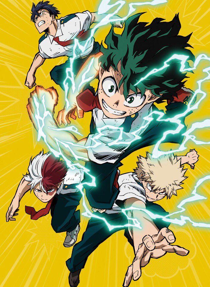 Twitter My Hero Hero Wallpaper Anime