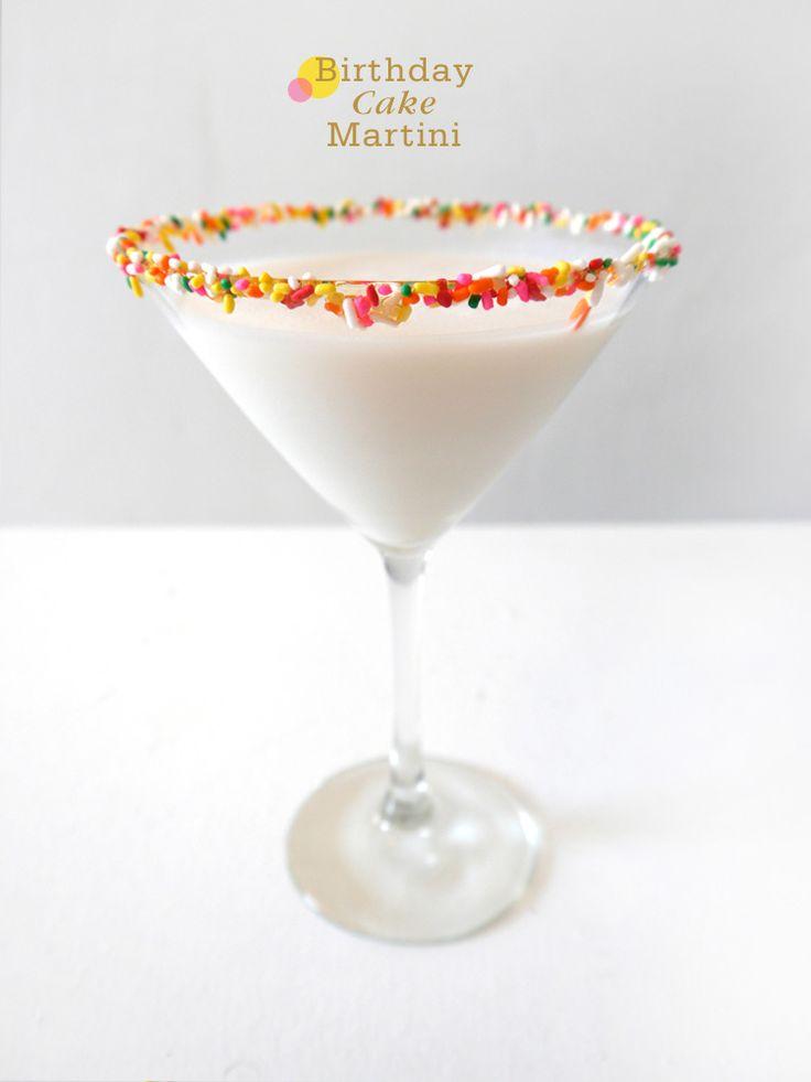17 Best Ideas About Birthday Cake Martini On Pinterest
