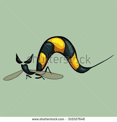 #cartoon #vector #wasp http://qps.ru/ZxMbI
