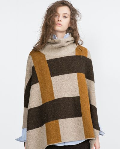 Image 2 of SWEATER WITH SIDE SLITS from Zara