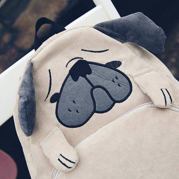pug dog backpack shop buy,  Palegrunge,  grunge, tumblrclothes, tumblrstyle, tumblroutfit, kawaiistuff,  kawaii, aesthetic, aesthetics aestheticclothes, softgrunge, softgoth, tumblrstore, grungestyle, outfitgoals, outfitidea, boogzel, boogzelapparel, kokopie boots ,unusual bag, backpack tumblr, kanken backpack