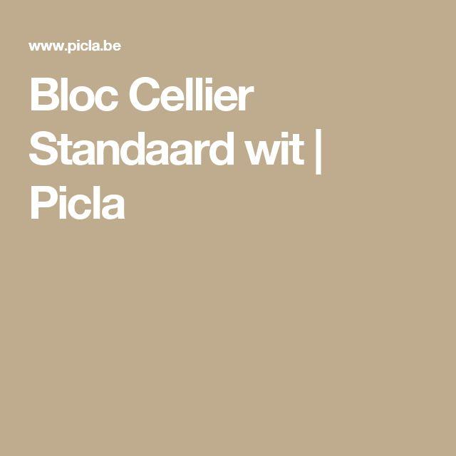 Bloc Cellier Standaard wit | Picla