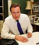 Left handed leaders - UK Prime Minister David Cameron is a lefthander see more at http://www.anythinglefthanded.co.uk/famous/leaders.html