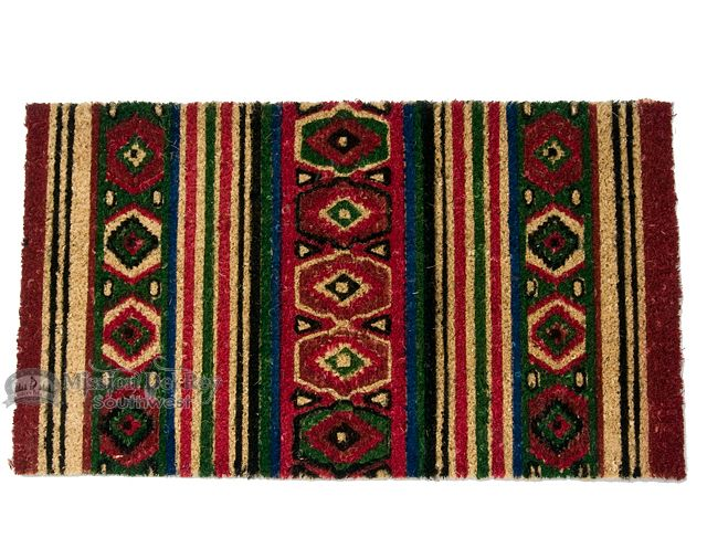 "Southwestern Door Mat -Southwest 16""x28"" - Mission Del Rey Southwest"