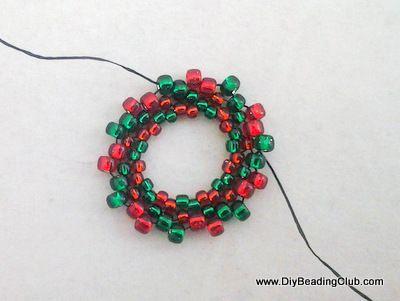 Christmas Wreath Bracelet