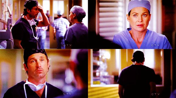 Meredith and Derek Post It | Free Falling - Quotes - Meredith and Derek Online