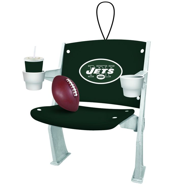 New York Jets Stadium Chair Christmas Ornament