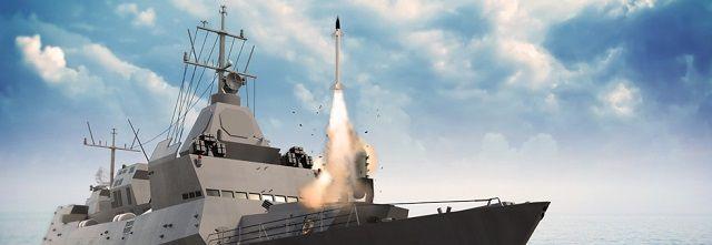Barak 8 Test Launch