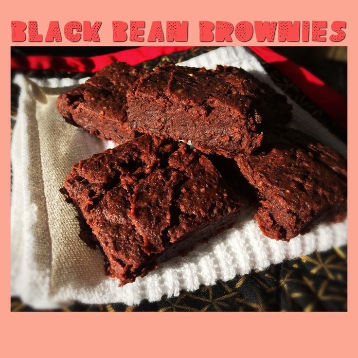 Gluten-free, Plant-based (vegan optional) brownies made from black beans. Dense, chewy, and would fool just about anyone!