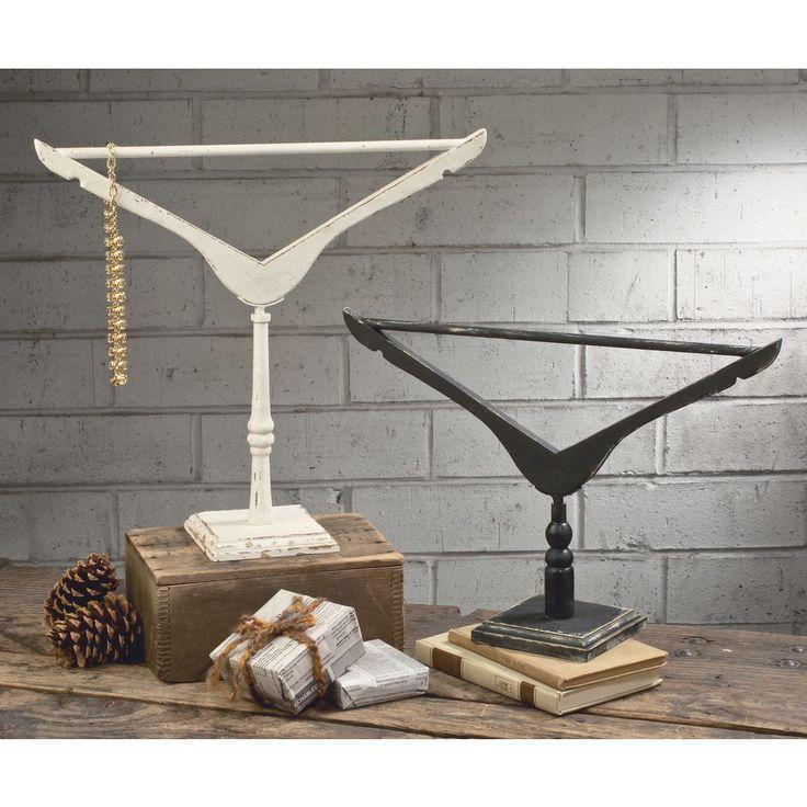 Vintage Hanger Jewelry Stands Set of 2