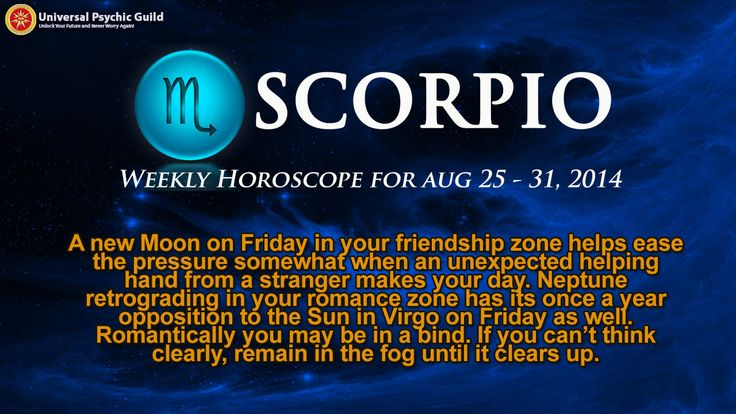 #Scorpio! Want to find out what's store for you this WEEK? Watch Astrogirl's #WeeklyHorosocpe Forecast for FREE and get insights to guide you on the week ahead.