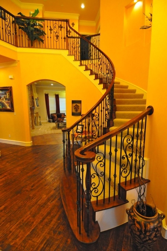 Design for our wrought iron staircase balusters