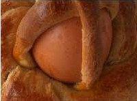 I cavagnetti o cestini di frolla con uova sode