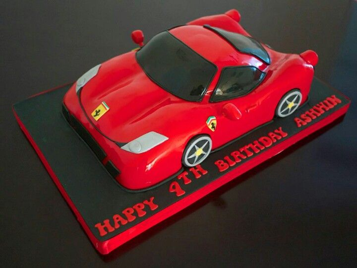 7 Best Images About Ferrari Cake On Pinterest Cake