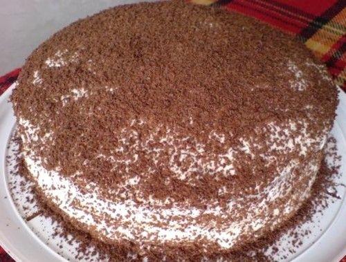Сметанный торт: все гениальное просто! / Простые рецепты