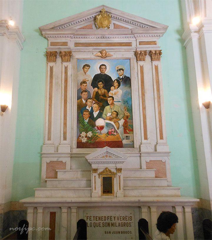 Capilla de San Juan Bosco en la Iglesia María Auxiliadora en la Habana