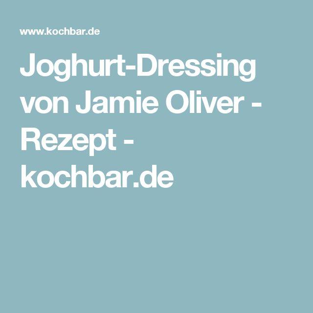 Joghurt Dressing Jamie Oliver