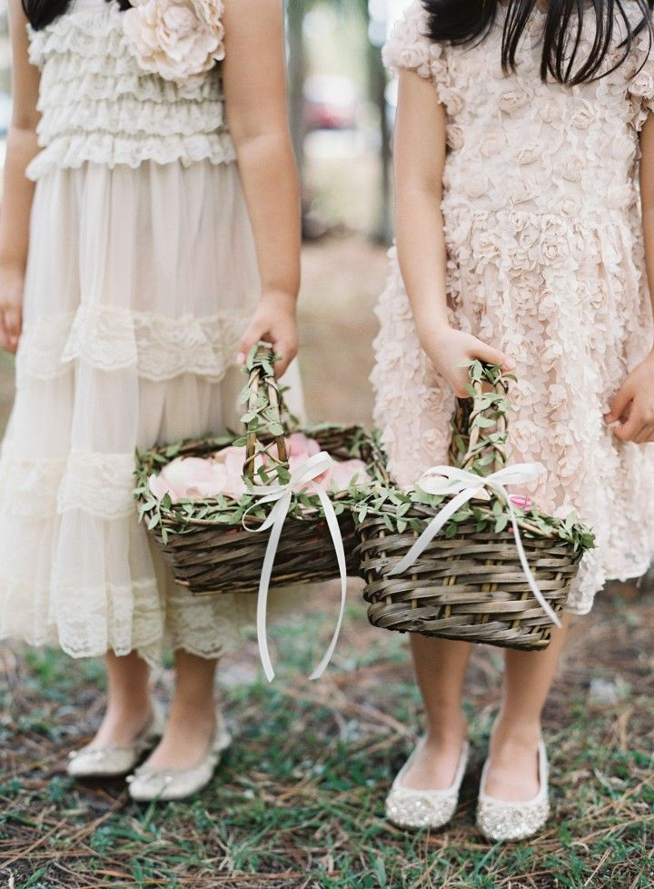 flower girl idea; photo: Judy Pak Photography