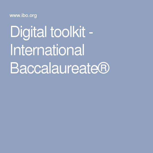 Digital toolkit - International Baccalaureate®