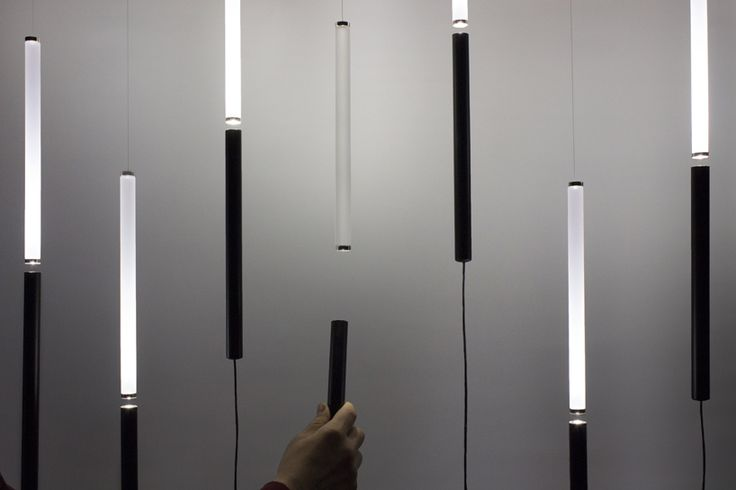 olivelab's EQUILIBRIO lamp plays on gravity + magnetism