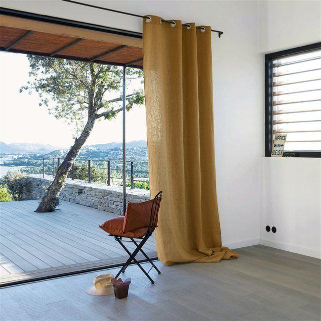 les 25 meilleures id es concernant rideau jaune et gris. Black Bedroom Furniture Sets. Home Design Ideas