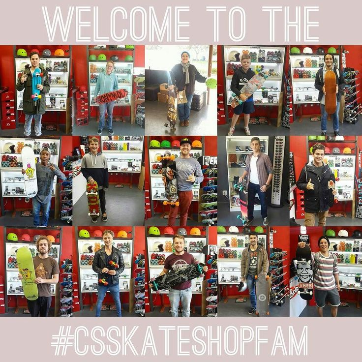 It's #madstokemonday & while we look ahead to a fresh month of stoke spreading we look back at all the peeps we welcomed to the #csskateshopfam! We're super hyped to have you part of the family!  Don't forget to always skate safe  to enjoy it & to keep spreading the stoke!  Have a rad one!   #csskateshop