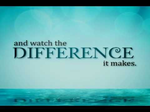 "Appreciation video for school volunteers....love the line ""and watch the difference it makes"""